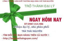 Tuyển đại lý trà Thái Nguyên Tại Bắc Ninh và Các tỉnh
